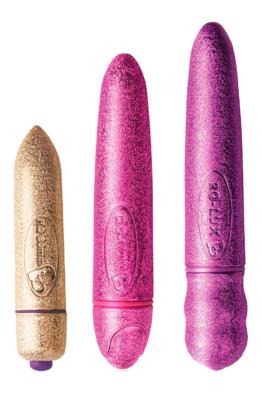 3 Vibro-Bullets Glitter Glitz